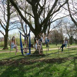 Aerial Dance 'Serendipity' choreographed by Gillian Hipp